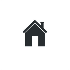 home icon. Vector Illustration