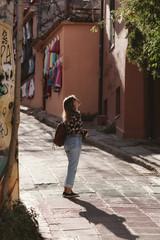 Photographer exploring Athens«Plaka