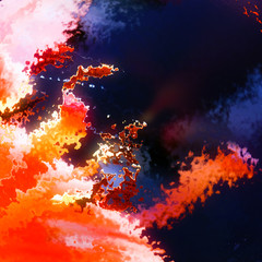 Burning flames explosion abstract background