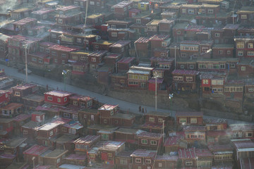 The Larung Gar Buddhist Academy
