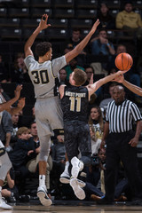 NCAA Basketball: Army at Wake Forest