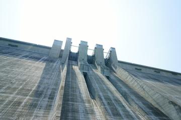 Aluminium Prints Dam 滝沢ダム 堤体
