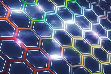 Creative hexagin wallpaper