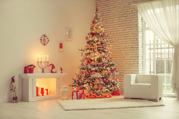 Christmas decor in houses