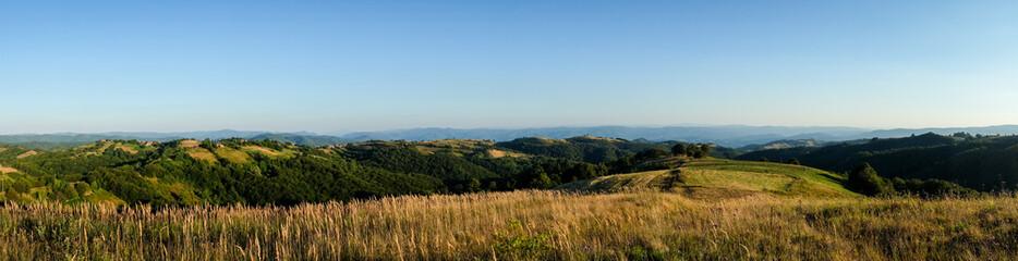 Panorama of Banat in Romania