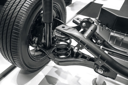 suspension system of the car
