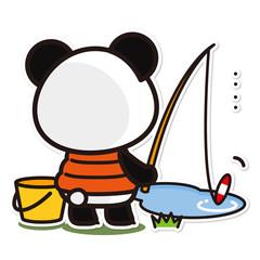 俺のぱんだ。釣り