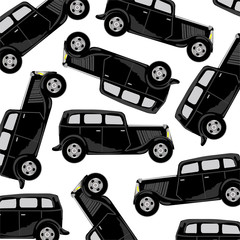 Black car pattern