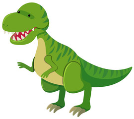 Tyrannosaurus Rex with sharp teeth