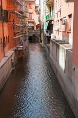 The Moline canal, Bologna