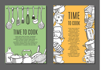 flyers with kitchen ware