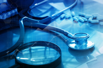 Medical examination and healthcare business with graph