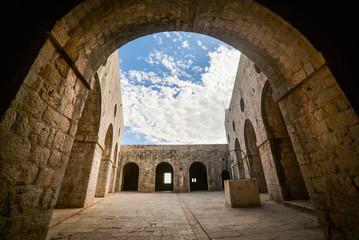Fort Lovrijenac, St. Lawrence Fortress building architecture in Dubrovnik