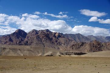 Landscape between Lamayuru and Leh in Ladakh, India