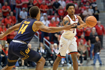 NCAA Basketball: California at San Diego State