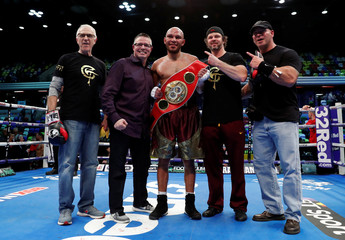 Boxing - James DeGale vs Caleb Truax - IBF World Super-Middleweight Title