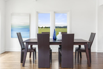 Modern Dining table set.