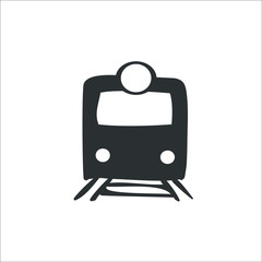 Train icon. Vector Illustration