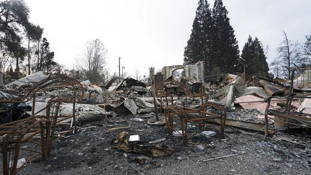 Sonoma & Napa Valley Wildfires in October 2017