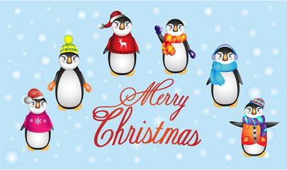 Christmass Penguins
