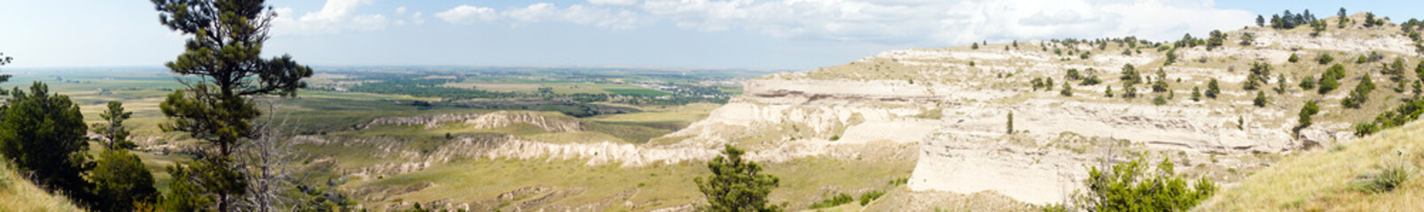 Scotts Bluff Monument Area Western Nebraska United States North America