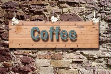 Schild 209 - Coffee