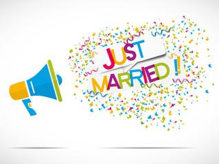 megaphone : just married
