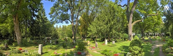 Der Hauptfriedhof in Frankfurt am Main