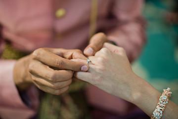wedding ring. thai wedding . jewelry