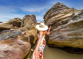 Follow me through the rocks of Krabi island