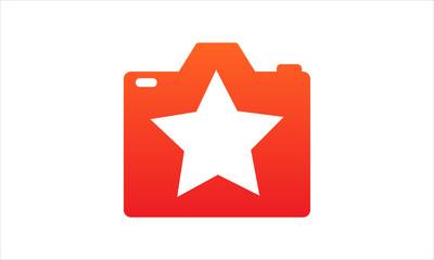 camera star logo icon