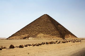 La pyramide rouge de Dahchour - Egypte