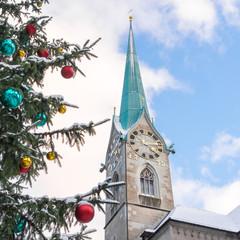 Zürich an Weihnachten