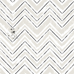 abstract geometric background  with paint strokes and splashes, zigzag pattern, seamless