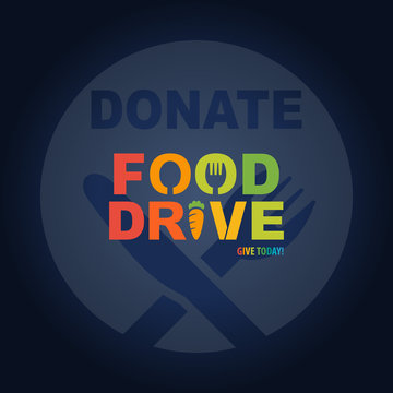 Food Drive Donation Give Today Campaign