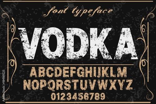 Font alphabet Script Typeface handcrafted handwritten vector