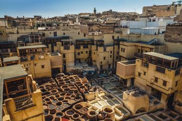 Ledergerberei in Fez