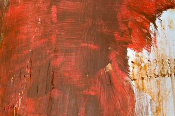 background texture angry red brush strokes