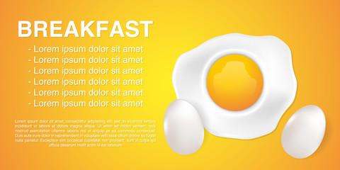 Fried Egg vector illustration. good morning concept