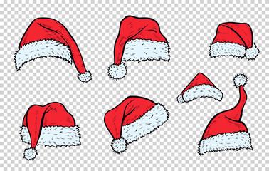 Christmas hats Santa