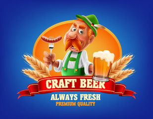 beer logo product
