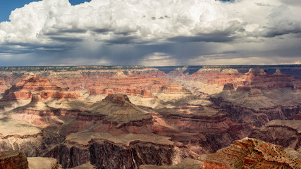 Deurstickers Baksteen Grand Canyon Monsoon Season Storms