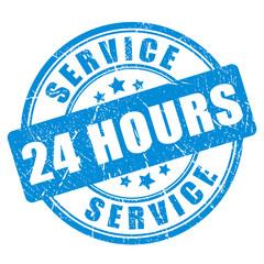 Blue ink stamp service 24 hour