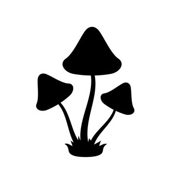 Toadstool mushrooms icon