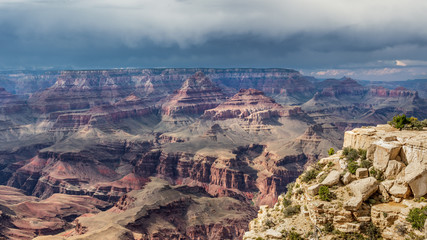 Grand Canyon Monsoon Season Storms
