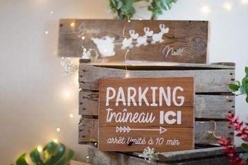 Parking traineau