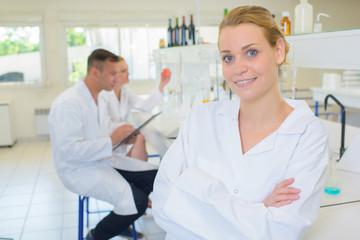 confident in the laboratory