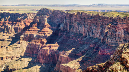 Grand Canyon looking to Desert View from Navajo Point