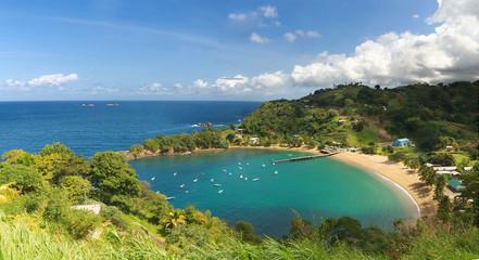 Parlatuvier bay - Caribbean sea - West indies - Antilles - Tobago