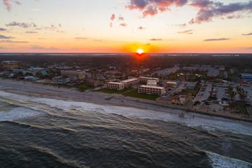 Sunset over St Augustine Florida